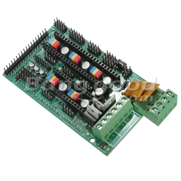 3D Printer RAMPS 1.4 Controller Board For Reprap Mendel Prusa Arduino