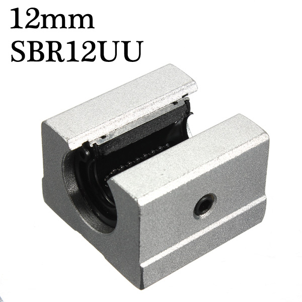 Slide bearing block 12mm SBR12UU Router Motion Bearing Solide Block