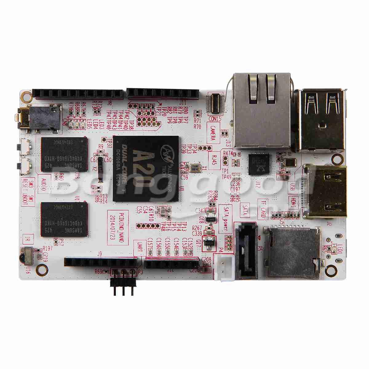 pcDuino3 Nano 1GHz Dual Core Cortex-A7 Development Board For Arduino Raspberry PI