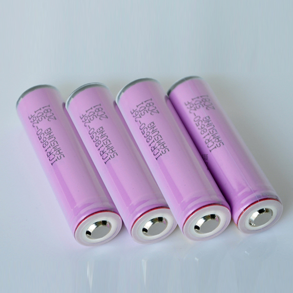 4PCS 18650 3.7V 2600mah Lithium Rechargeable Battery For Samsung