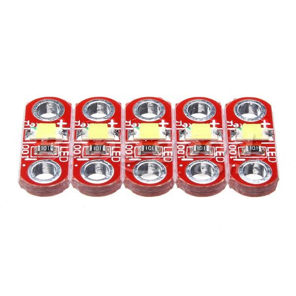 50Pcs 3V - 5V 40MA LilyPad LED Module