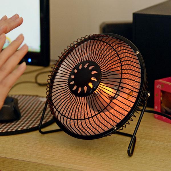 6 Inches Heater Fans Small Electric Heater Fan Desktop Heater