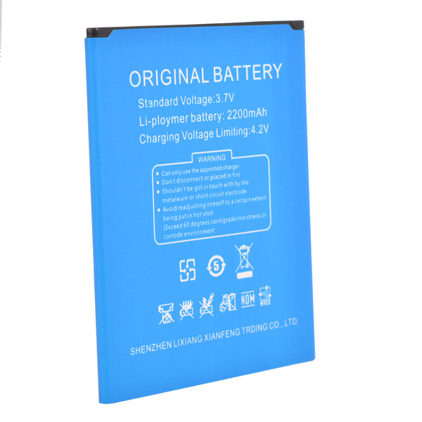 Original 2200mAh Lithium-ion Polymer Battery For Uhappy Up620