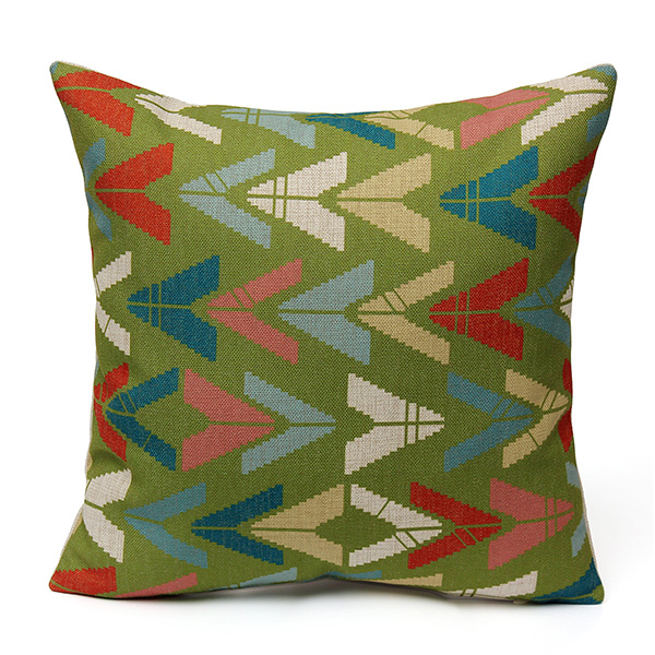 discount china wholesale geometric waves home decor throw li