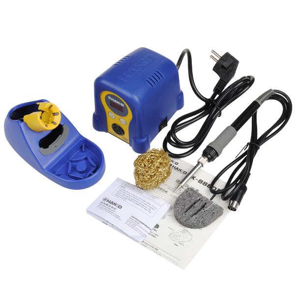 HAKKO FX-888D Style 220V EU Plug Digital Display Solder Iron Station
