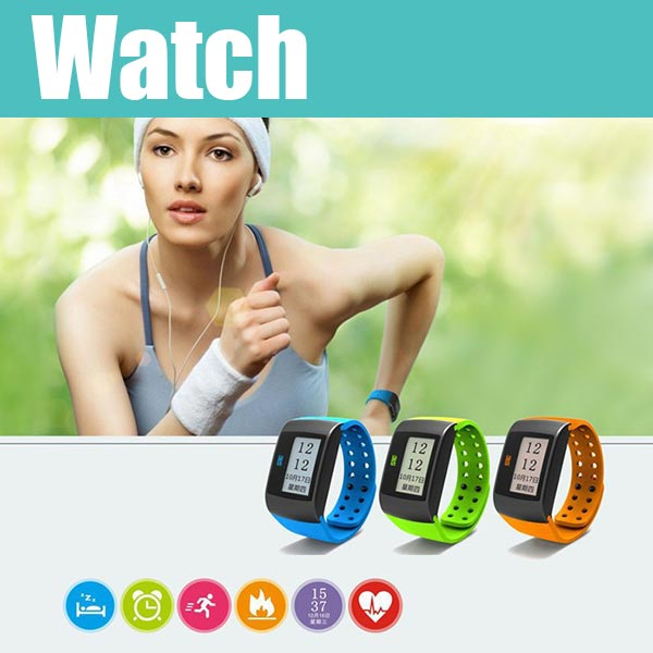 MU1 Smartwatch Watch For IPhone Samsung HTC Android Smartphone