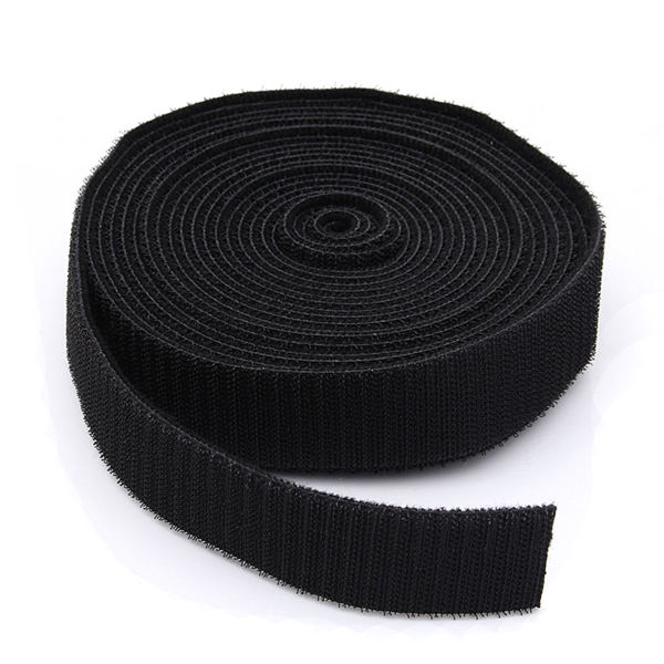 5M Black Strapping Cable Tie Magic Tape