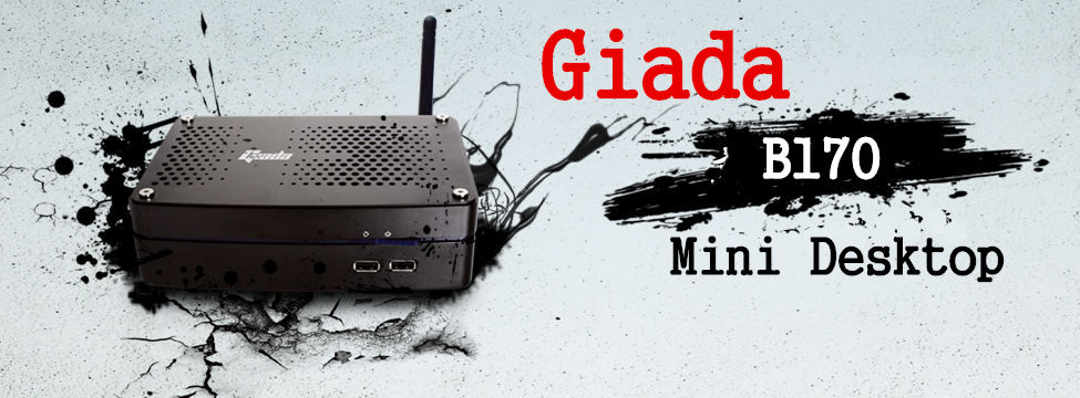 Giada B170 Mini Desktop Intel Celeron 1037U 2G DDR3+500G SATA HDD