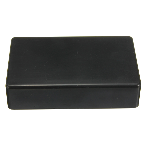 Waterproof Black Plastic Power Supply Box Enclosure Instrument Case