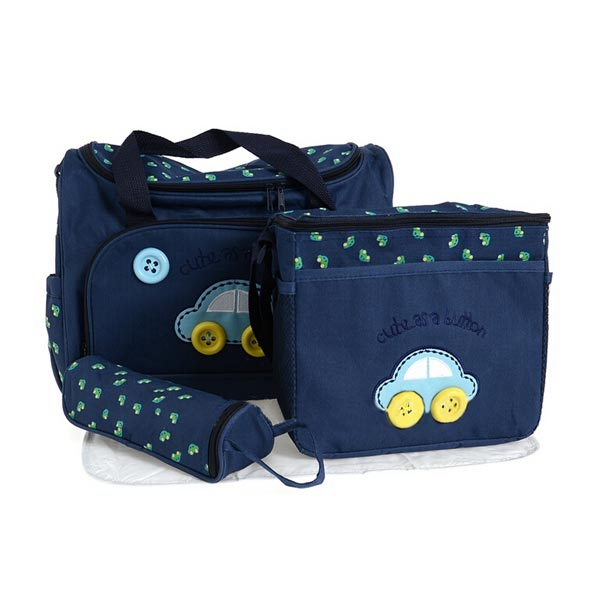 Mummy Car Pattern Baby Care Diaper Bags Storage Handbag