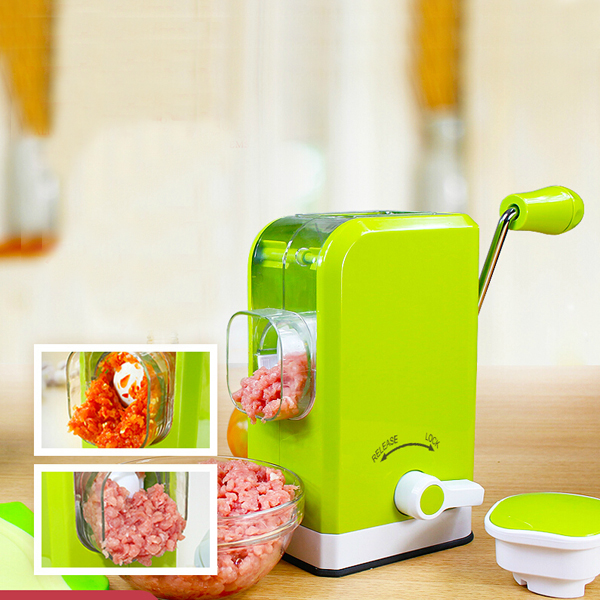 Multifunctional Manual Meat Grinder Mincer Sausage Machine