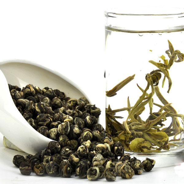 50g Aroma Jasmine Green Tea Chinese Organic Dragon Pearl Tea