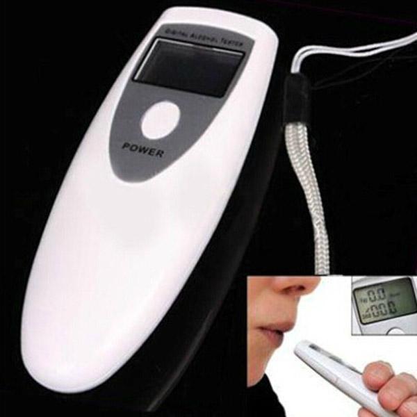 Digital Alcohol Breath Tester Pocket Analyzer Breathalyzer Detector