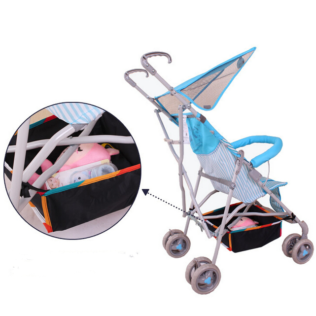 Baby Carriage Storage Basket Stroller Supplies Accessories