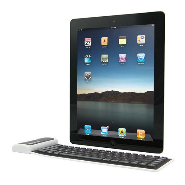 Universal Foldable Silicone Wireless Bluetooth Keyboard For Tablet