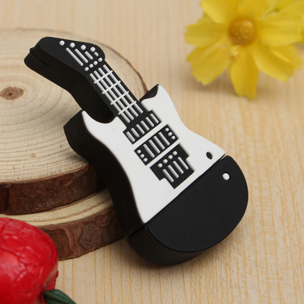 8GB Digital Guitar Model USB 2.0 Flash Drive Memory Stick U Disk