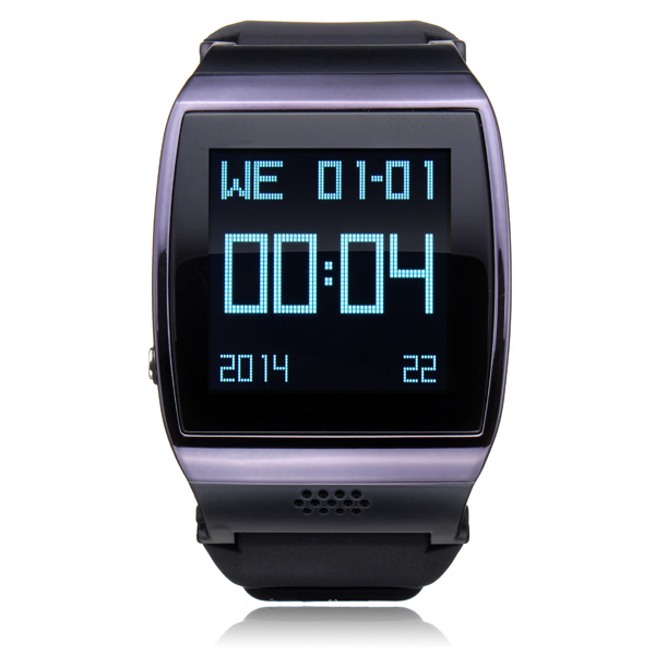 Hi Watch GSM Bluetooth Pedometer Men Black Smart Phone Watch