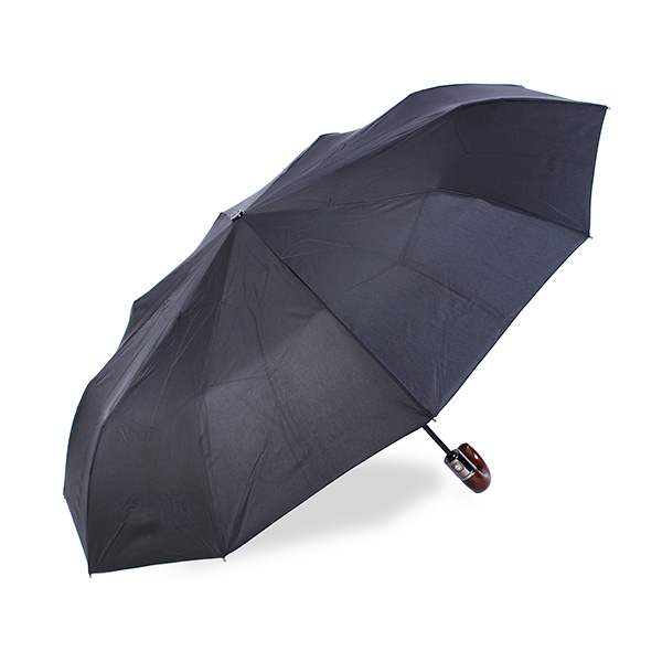 Automatic Folding Windproof Men Sun Rain Hook Handle Umbrellas