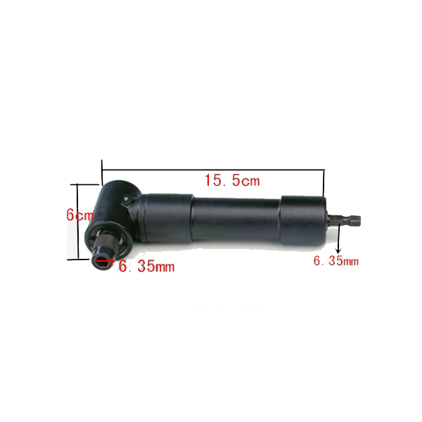 1/4 inch 90 Degree Angle Screw Driver Quick Release Heavy Duty Driver