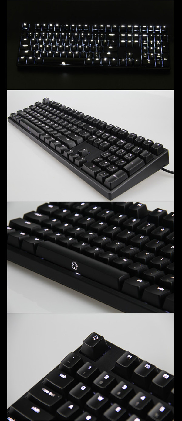 Cherry MX Tactile Grey KBTalking ONE Backlit Mechanical Keyboard