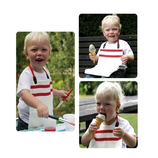 Baby Adult Adjustable Bib Fitted Fixed Clip Aprons