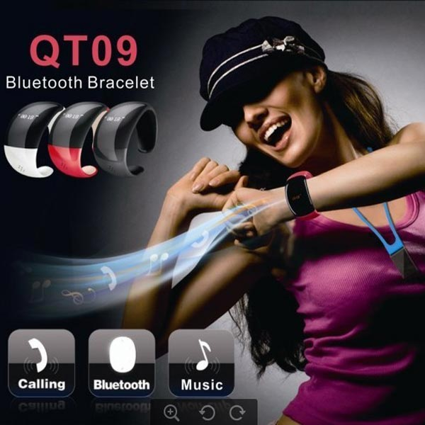 Bluetooth Phone Call Answer Bracelet For iPhone Smartphone Device