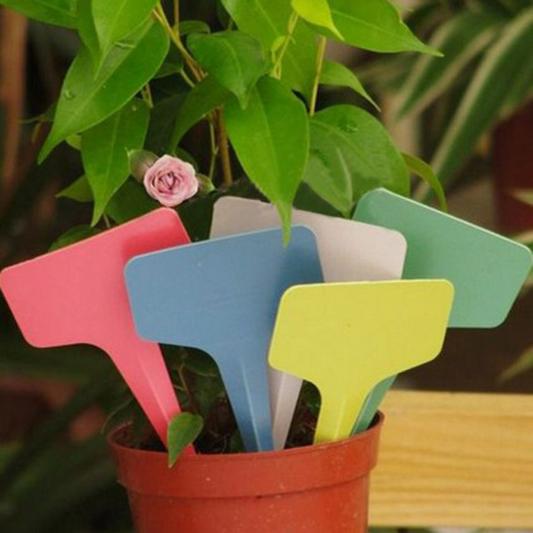 Plastic Label PVC Waterproof Gardening Label Flower Label