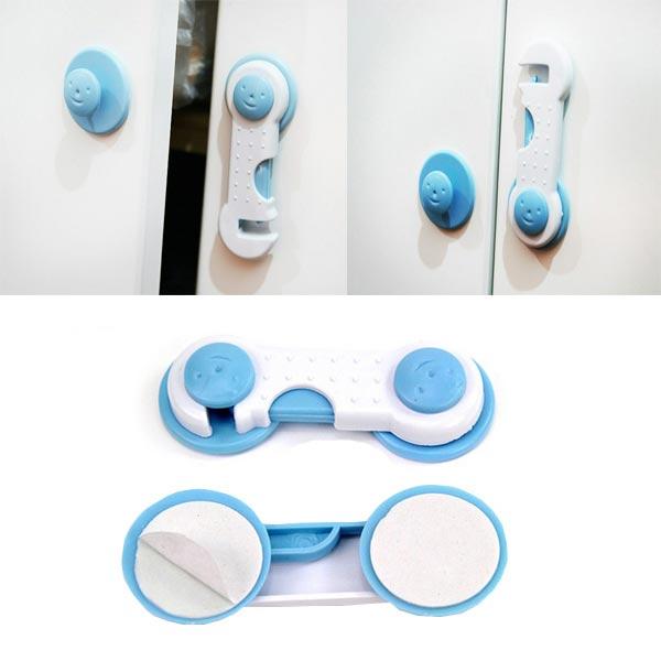 1 Pair Baby Safety Lock Door Drawer Cabinet Cupboard Fridge Lock