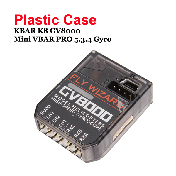 Plastic Case for KBAR K8 GV8000 Mini VBAR PRO 5.3.4 Gyro
