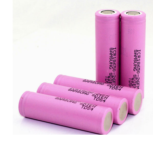 ICR18650-26F 2600mAh 3.6v Rechargeable Li-ion Battery 2PCS