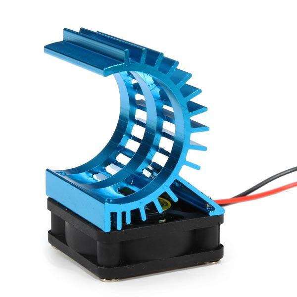 Aluminum Heat Sink Cooling Fan For RC Motor
