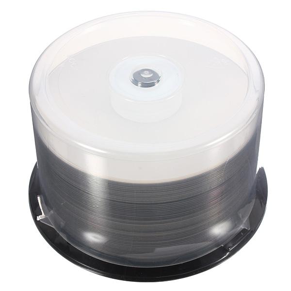 50pcs Printable DVD+R DL 8X 8.5GB 240min Dual Layer Blank Media Disc
