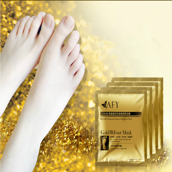 Foot Care Mask AFY Gold Moisturizing Mask Remove Dead Skin