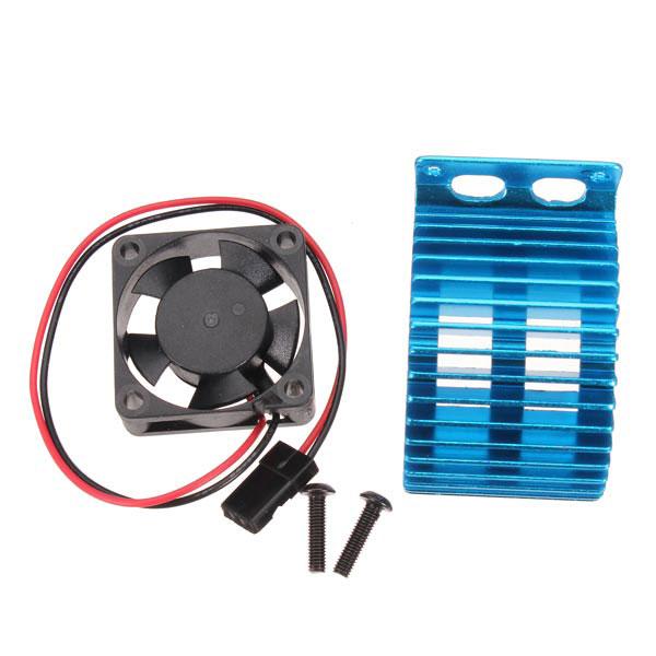 Radiator With 5V Fan For Brushed 540/550 Brushless 3650/60/74 Motor