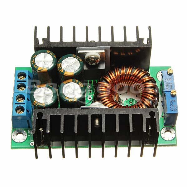 8A 24V TO 12V Step-down LED Driver Adjustable Power Supply Module
