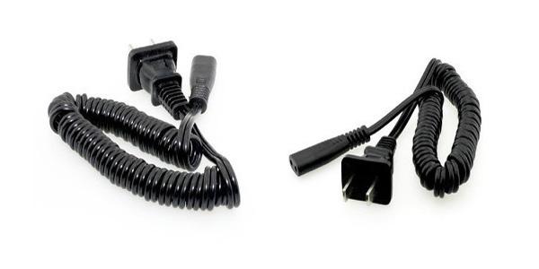 FLYCO FS820 FS325 Shaver Original Razor Charger Spring Power Cord