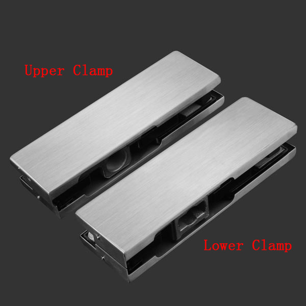 201 Stainless Steel Glass Door Clip Frameless Glass Door Clip