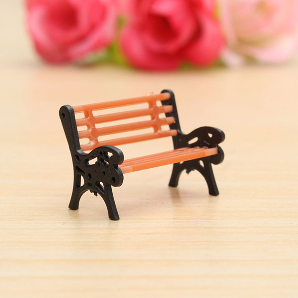 1:30 Bench Chair Settee Garden Park Layout Scenery Railway