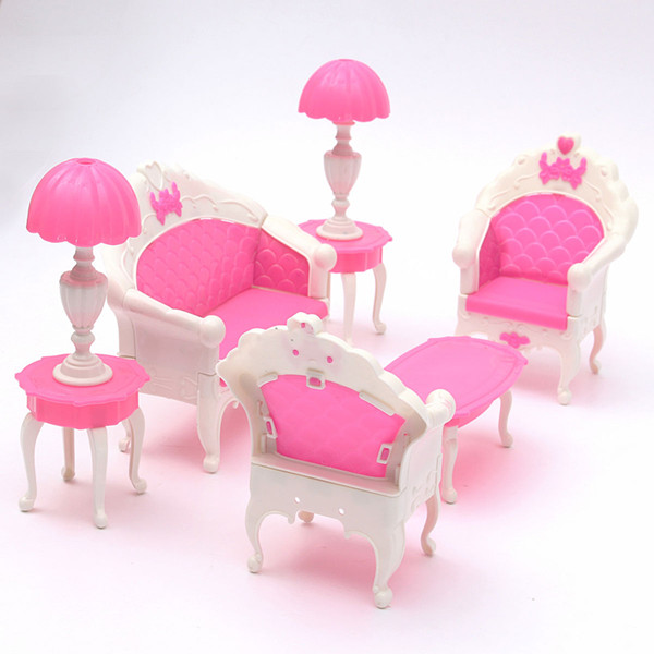 Discount China Wholesale Pink Dollhouse Furniture Living Room ...
