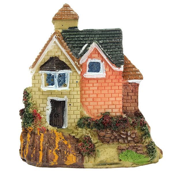 DIY Miniature Villa Craft Ornaments Potted Plant Garden Decor
