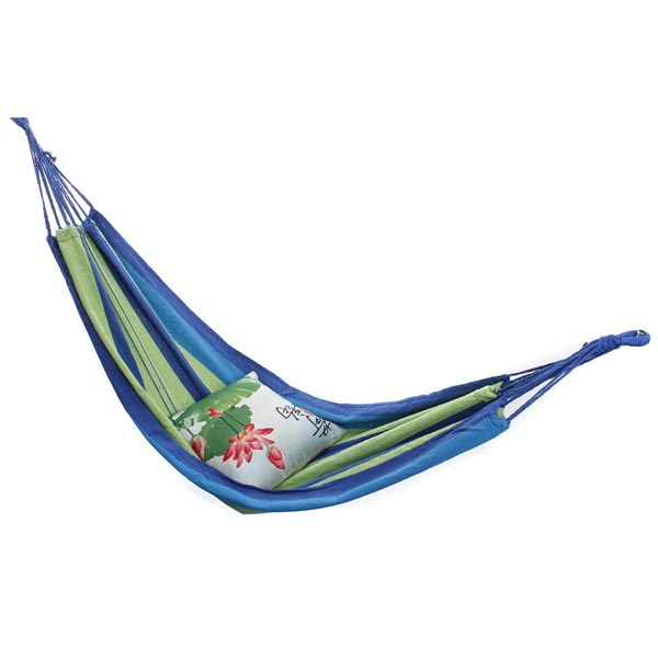 Outdoor Camping Hammock Portable Travel Beach Fabric Swing Bed
