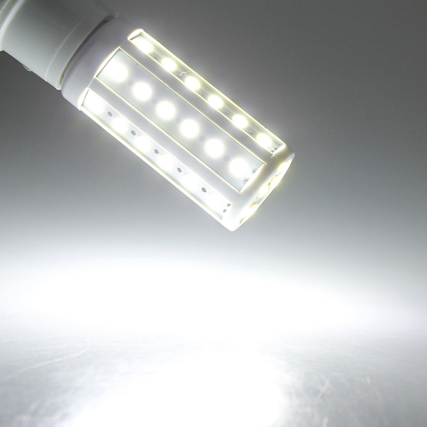 4X E27 8W White 5630 SMD SinglyFire 42 LED Corn Bulbs AC 220V