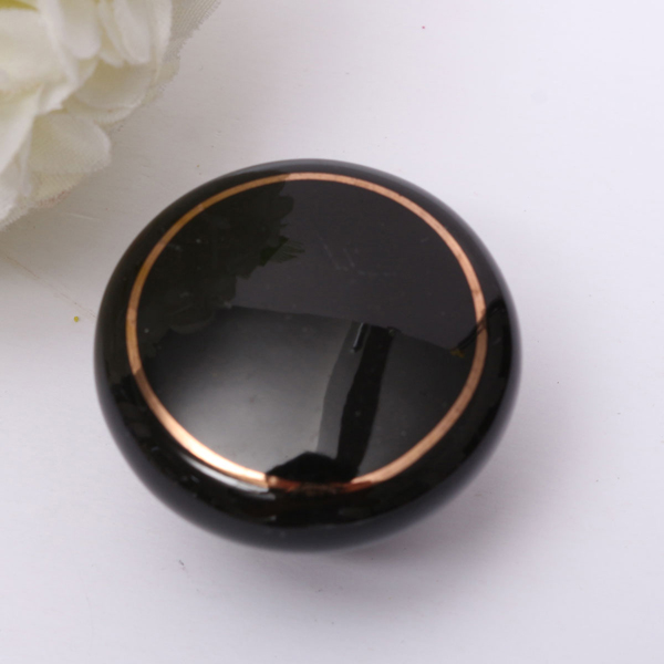 European Ceramic Drawer Cabinets Black Hole Single Handle Door Knobs
