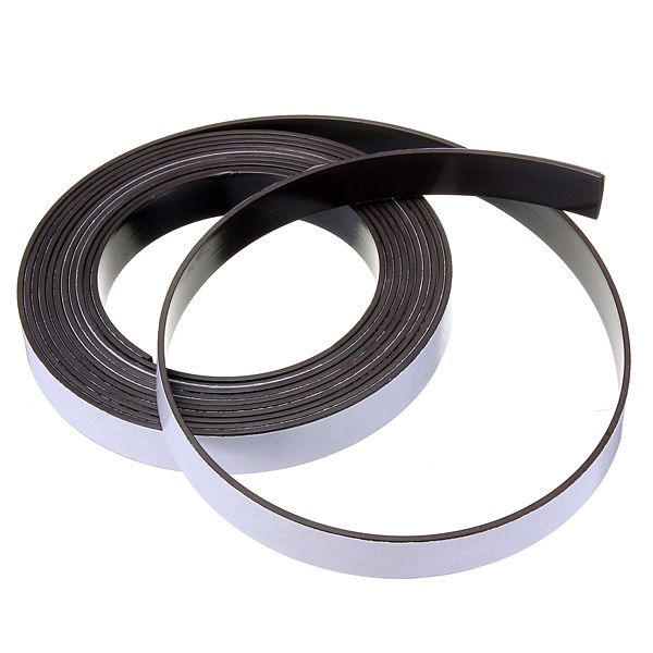 3M Self Adhesive Magnetic Tape Magnet Strip 12.7mm(1/2 Inch) Wide