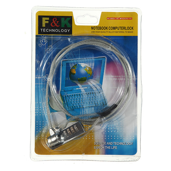 Security Lock Cable Chain FOR Laptop Notebook PC