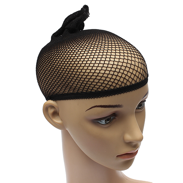 Black Hair Wig Weaving Cap Net Mesh Fishnet