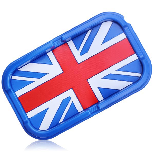 Flag Series Car Phone Mat Navigation Holder England Blue