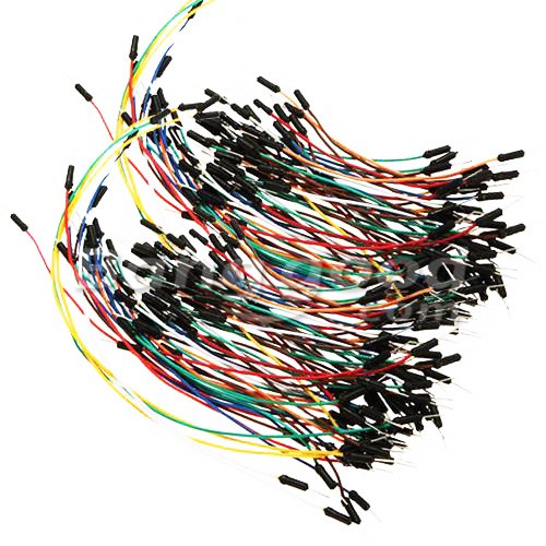 65X Mixed Color Solderless Breadboard Jump Wires