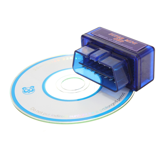 ELM327 V1.5 OBD2 Car Diagnostic Scanner Tool with Bluetooth Function