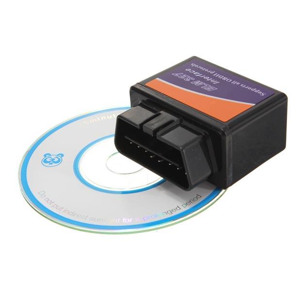 ELM327 V1.5 OBD2 Car Diagnostic Scanner Tool with BT Function